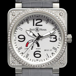 Prix du neuf Bell & Ross BR01-97 Top Diamond White Dial
