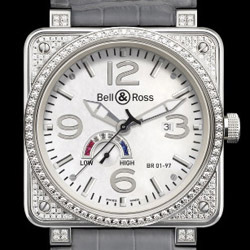 Prix du neuf Bell & Ross BR01-97 Full Diamond