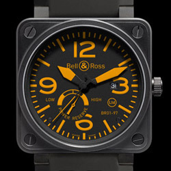 Prix du neuf Bell & Ross BR01-97 Power Reserve Orange