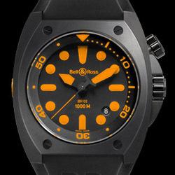 Prix du neuf Bell & Ross BR02 Orange
