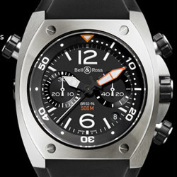 Prix du neuf Bell & Ross BR02 Chronograph Steel Finish