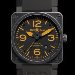 Prix du neuf Bell & Ross BR03-92 Orange