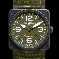 Prix du neuf Bell & Ross BR03-92 Military
