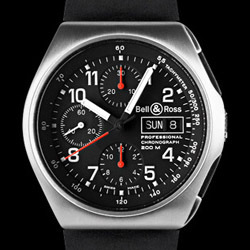 Prix du neuf Bell & Ross Type Professionel Space 3 Black