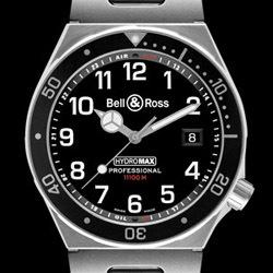 Prix du neuf Bell & Ross Type Professionel Hydromax 11000 m Black