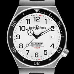 Prix du neuf Bell & Ross Type Professionel Hydromax 11000 m White