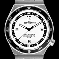 Prix du neuf Bell & Ross Type Professionel Demineur White
