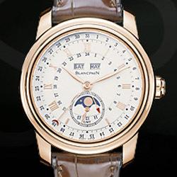 Prix du neuf et tarifs Blancpain Le Brassus GMT Or Rose
