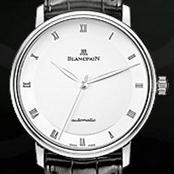 Prix du neuf et tarifs Blancpain Villeret Ultra Slim Acier