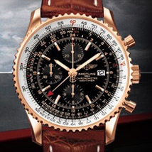 Prix du neuf  Breitling Navitimer World Or Rose 412