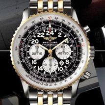 Prix du neuf Breitling Navitimer Cosmonaute 416 Acier-Or