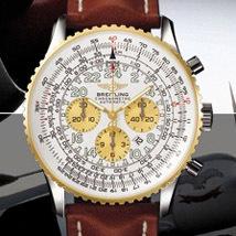 Prix du neuf Breitling Navitimer Cosmonaute 417 Acier-Or