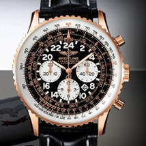 Prix du neuf Breitling Navitimer Cosmonaute 418 Or Rouge