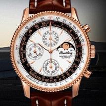 Prix du neuf et tarifs Breitling Montbrillant Olympus 434 Or Rouge