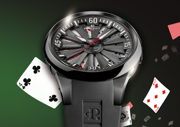 Nouvelle Montre Perrelet Turbine Poker