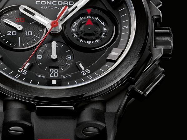 Montre Concord C2 - Quand l'inspiration néo-noire rencontre le design industriel
