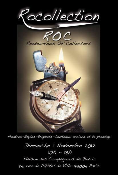 Le prochain salon ROC se tiendra le dimanche 11 novembre 2012 !