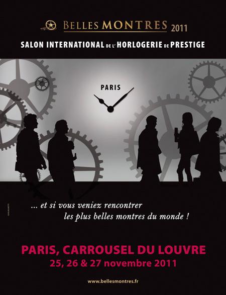 Salon Belles-Montres 2011 au Caroussel du Louvre - Le rendez-vous incontournable