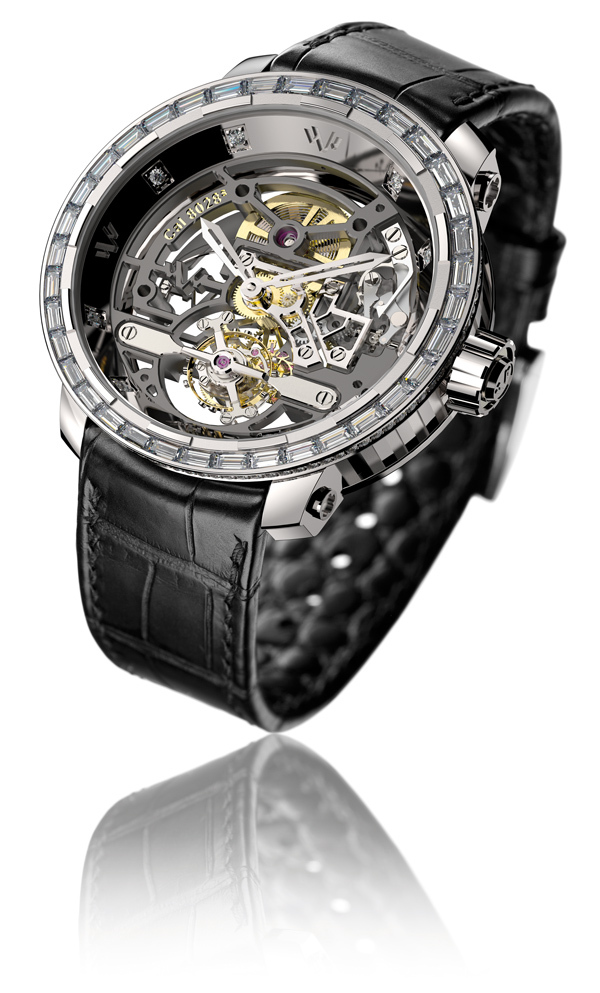 DE WITT TWENTY-8-EIGHT TOURBILLON SQUELETTE T8.TH.008 / 009