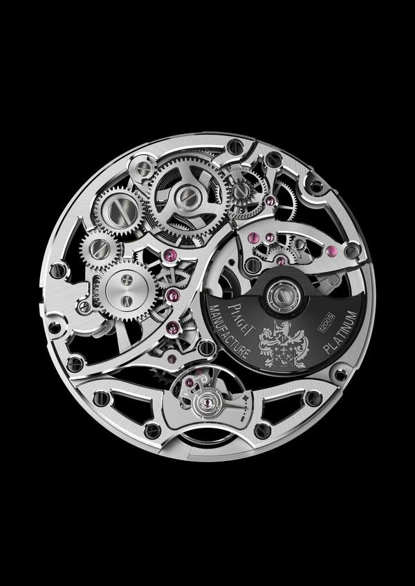 Piaget Altiplano Squelette Extra-plate. L'essentiel en un double record