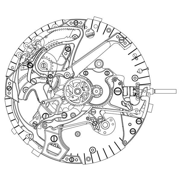 GIRARD-PERREGAUX 1966 REPETITION MINUTES : La mécanique de l'harmonie