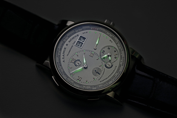 Lange 1 fuseaus horaires luminescents