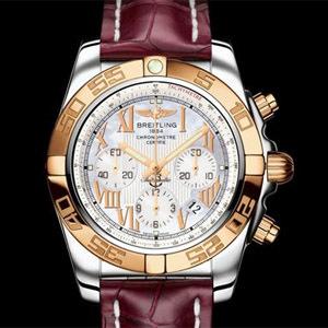 Breitling Chronomat 44 Gold Bezel