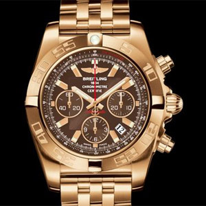 Breitling Chronomat 44red gold