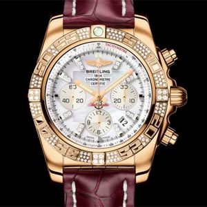 Breitling Chronomat 44 gold diamonds