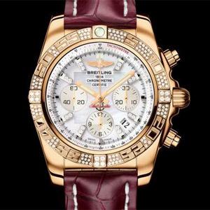 Breitling Chronomat 44 gold diamonds