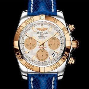 Breitling Chronomat 41 lunette or rose