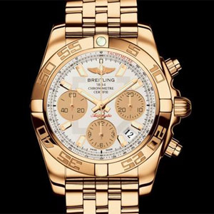 Breitling Chronomat 41 or rose
