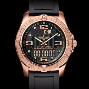 Breitling Aerospace Or rose
