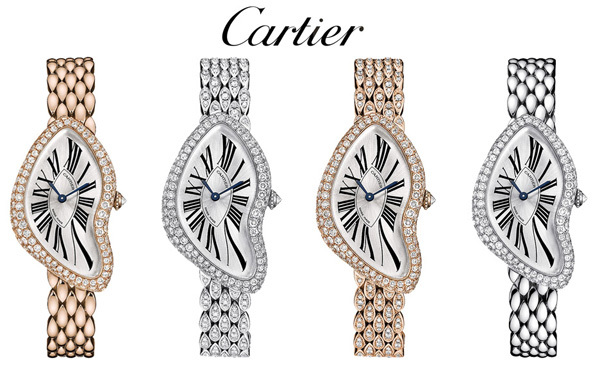 Editions limitées Crash de Cartier