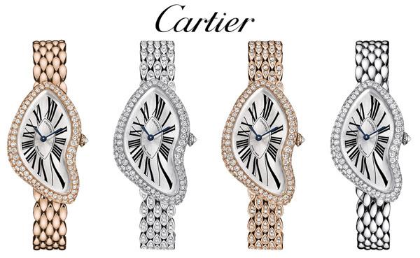 Editions limitées Crash de Cartier