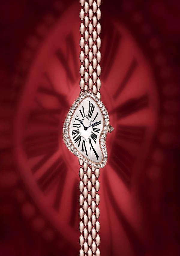 Version brillants Crash de Cartier