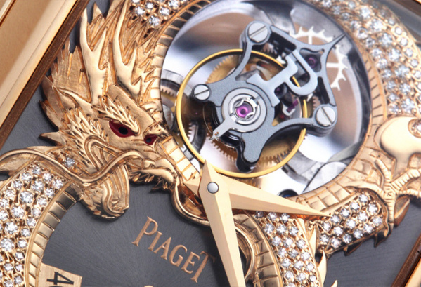 Piaget tourbillon Dragon collection