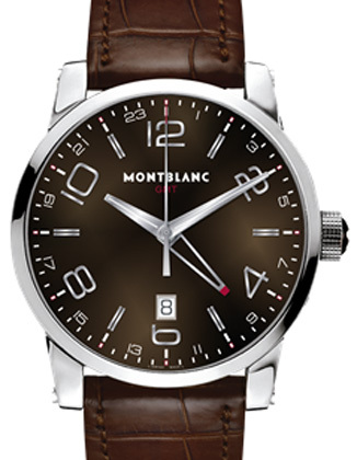 Montblanc GMT Timewalker Club Brown 106593