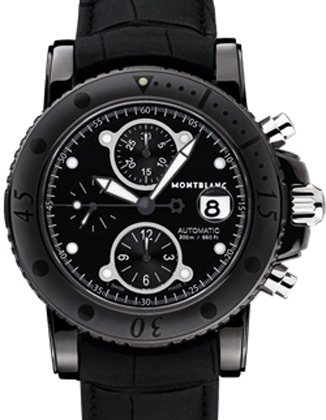 Montblanc Chronographe Sport DLC 104279