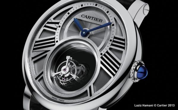 Mystérieuse de Cartier Rotonde double tourbillon Mystérieux