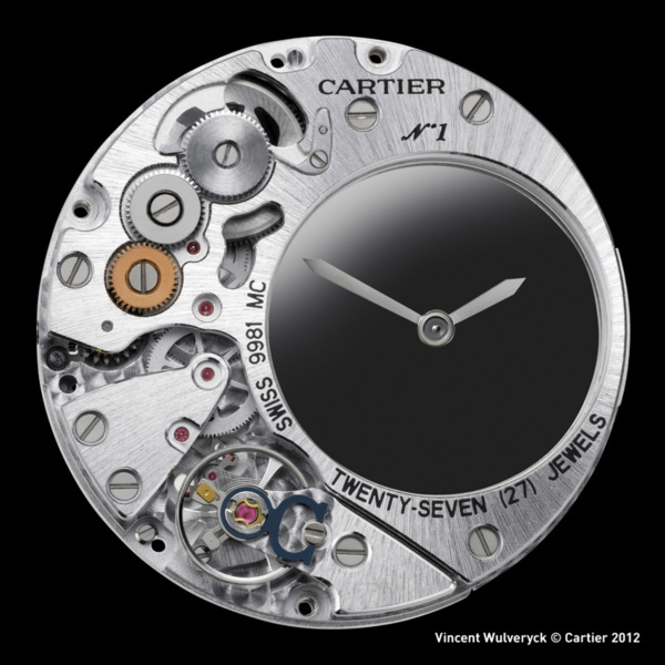 9981 MC calibre mouvement cartier