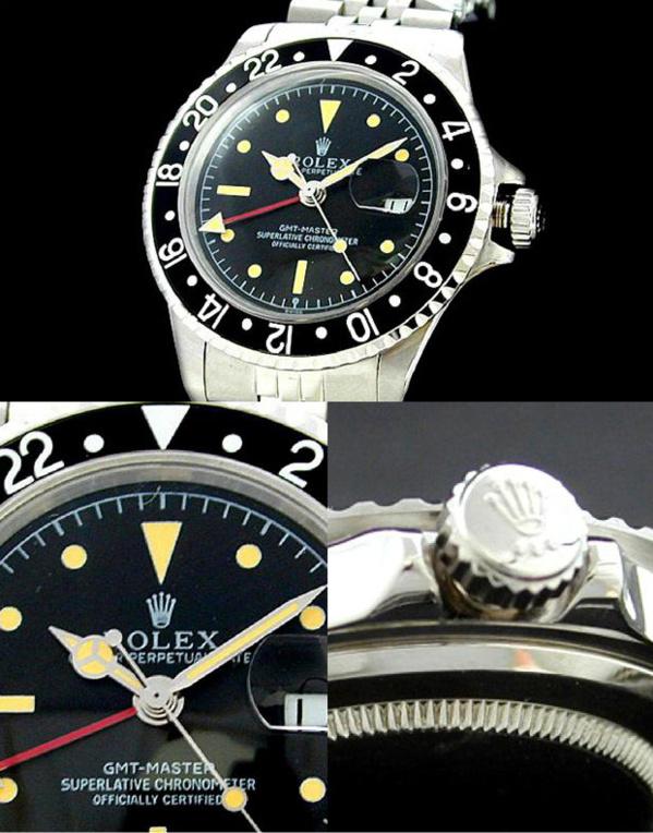 Fake Rolex GMT Master 1675 - Contrefaçon