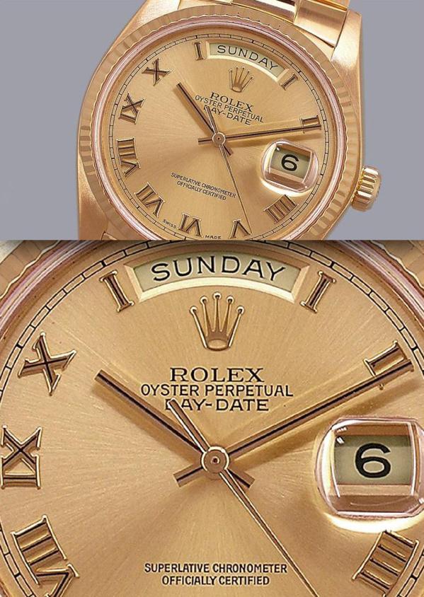 Rolex Datejust or - Originale