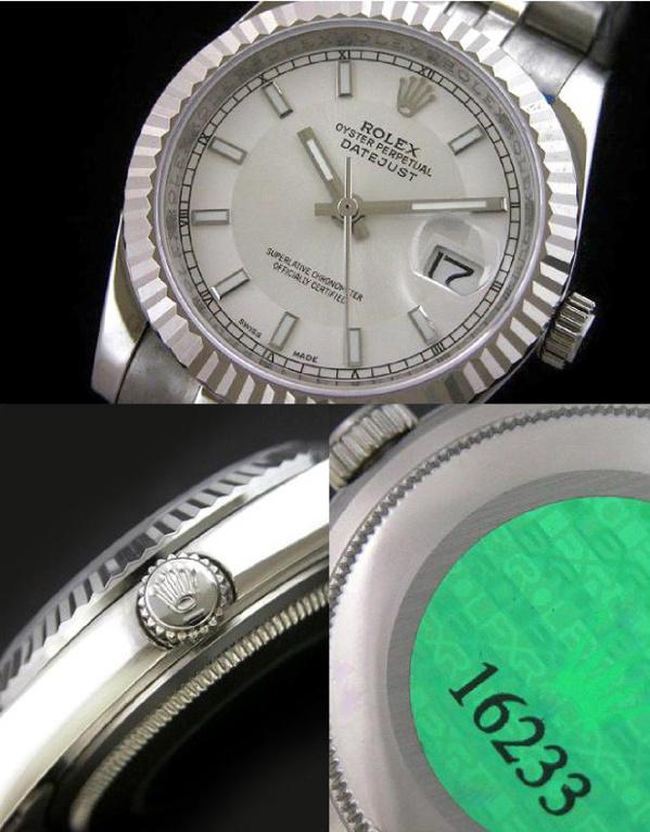 Fake Rolex Datejust - Contrefaçon