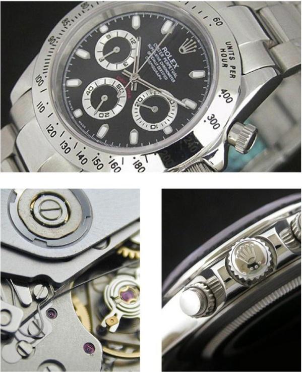 Comment identifier une contrefaçon Rolex daytona 16520
