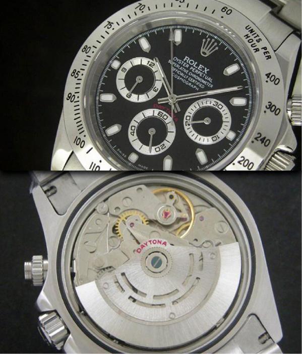 Fausse Rolex Daytona Cosmograph 116520 - Contrefaçon