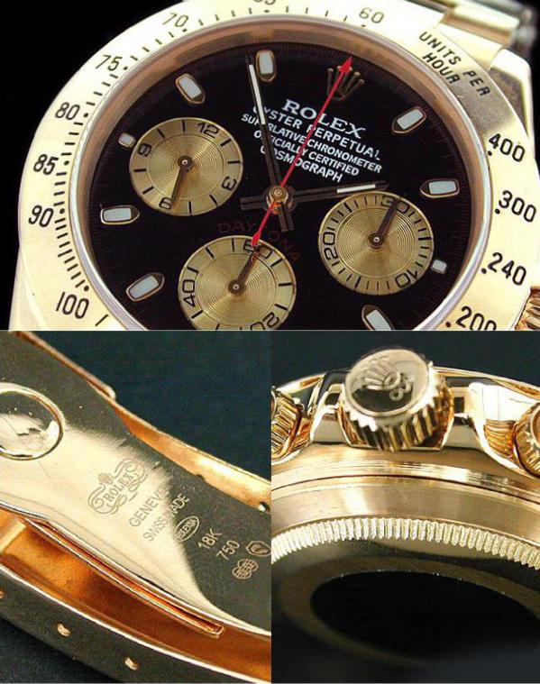 Fake Rolex Daytona 116505 - Contrefaçon