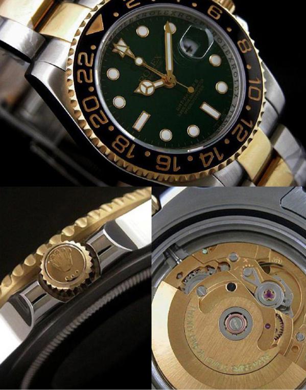 Fake Rolex GMT Master II 116713 - Contrefaçon