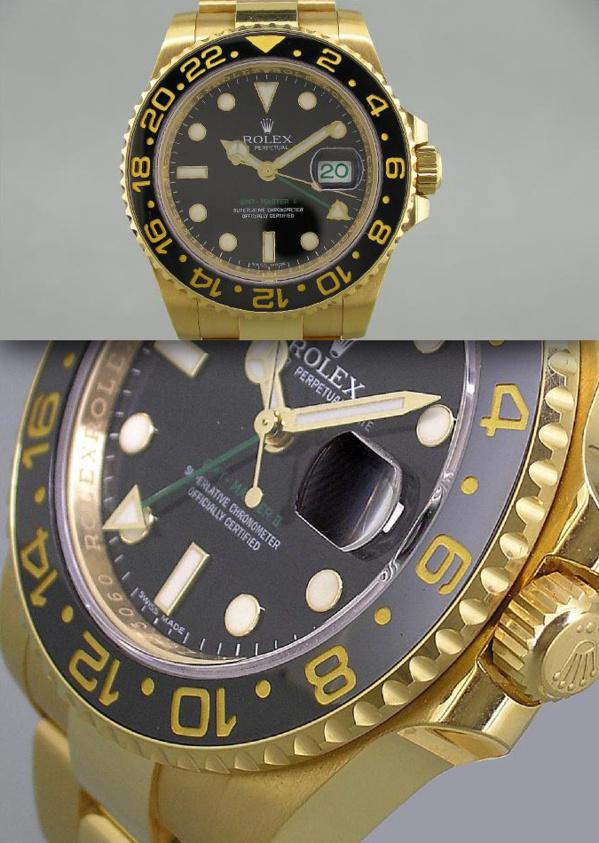 Rolex GMT Master II 116718 - Modèle original