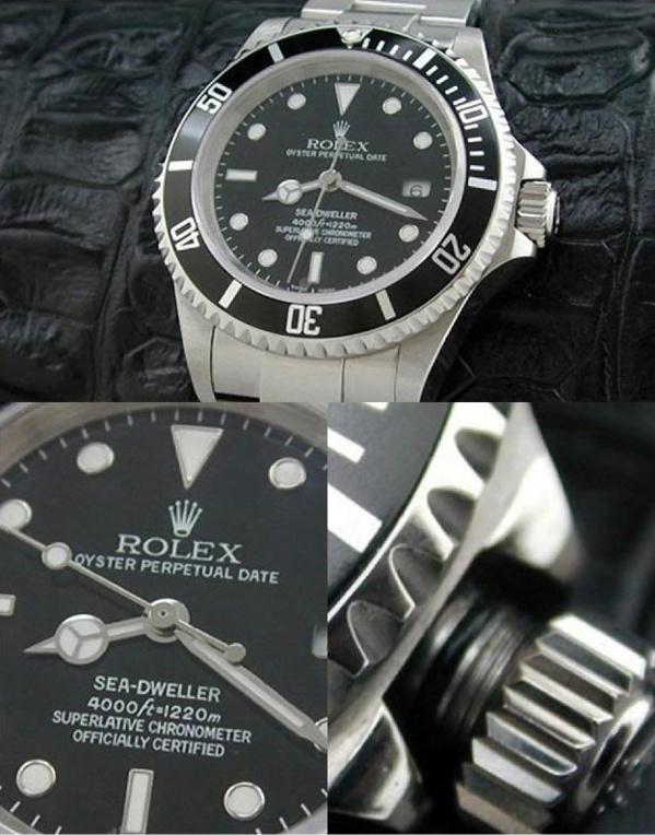 Fake Rolex Seadweller 16600 - Contrefaçon